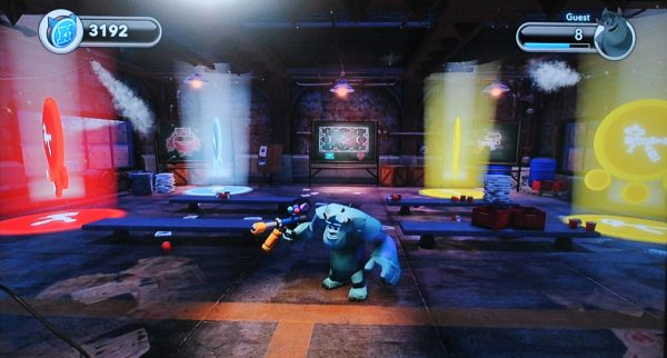 Paintball monsters university