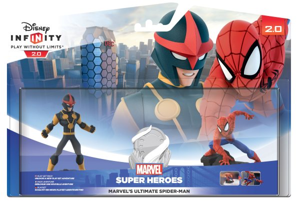 Spider-man Playset Disney infinity