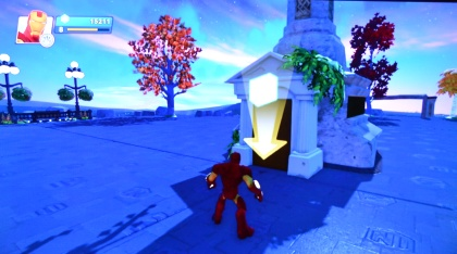 Iron Man a Toy Box Disney Infinity 2.0
